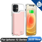 Liquid Silicone Power Bank Case Fr iPhone 12 Pro Max Mini Charger Battery Backup