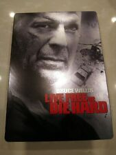 Live Free or Die Hard Dvd (Widescreen, Steelbook Edition) Bruce Willis pre-owned