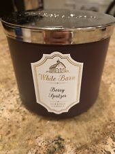 Bath And Body Works Berry Spritzer 14.5oz 3wick Candle