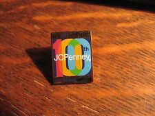 JCPenney 2002 Lapel Pin - Vintage JC Penney Department Store 100th Anniversary