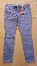 NWT Mossimo Supply Co sz 11 light blue sparkley lower waist straight hip (4)