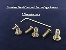 Stainless Steel Bolts for Bike Bicycle Spares Allen Button Head Cleats-Bottle