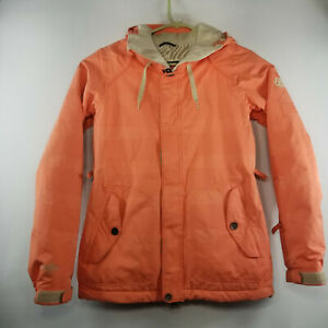 686 INFIDRY Women's Snowboard Jacket Blue Small 10,000MM Waterproof Vented Arms