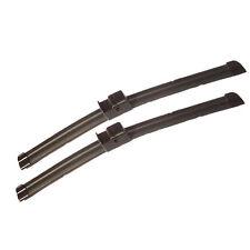 """PEUGEOT 407 04-10 SIDE PIN FITTING FLAT WIPER BLADES 28"""" x2"""