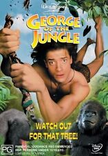 George of the Jungle NEW R4 DVD