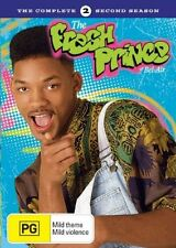 Fresh Prince Of Bel Air : Season 2 (DVD 2006, 4-Disc Set) New ExRetail Stock D65