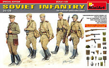 Miniart 1:35 - edición especial de infantería soviética (Nuevas Armas)
