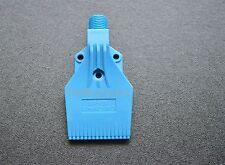 New 2 pcs Blue  Plastic ABS  Air Nozzle Air Knife 1/4'' H3 Blowing Nozzle