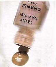 Publicité Advertising 1976 Cosmétique Le Fond de Teint Chanel