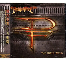 Dragonforce: The Power within (2012) CD OBI TAIWAN SEALED