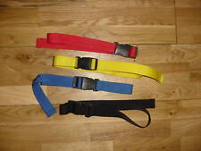 1 meter x 25mm QUICK RELEASE STRAPS / LUGGAGE / RACKS