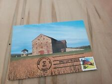 2021 Old Stone Bank(Foreray) Seasonal Barn in Spring First Day Cover