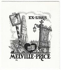 DANIEL MEYER: Exlibris für Melville-Price