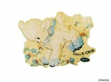 VinTaGe IMaGe XL RePRo BLuE LaMB NuRSeRY SHaBbY WaTerSLiDe DeCAL FuRNiTuRe SiZe