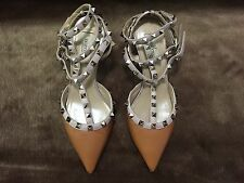 Authentic VALENTINO Rockstud Strap Pump Shoes - Size 37