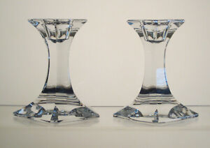 "PENTAGON RIEDEL Candle Holders 4"", Signed SET of TWO"