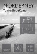 Farbenmix Schnittmuster Norderney -Tunika Shrug Kombi 34/36 - 50/52 S/M/L/XL/XXL