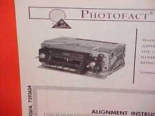 1966 BUICK RIVIERA GS ELECTRA 225 WILDCAT LESABRE AM RADIO SERVICE SHOP MANUAL
