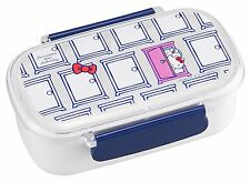 Removable 2 Sections Tight Lunch Box Hello Kitty and Doraemon Japan Bento Box