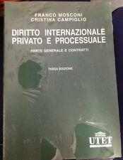 Diritto Internazionale Privato e Processuale Terza Edizione UTET Parte Generale