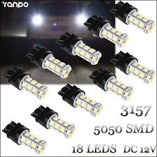 10Pcs LED Bulbs 3157 18 LEDs Reverse Brake Stop Turn Tail Back Up Light ST-181