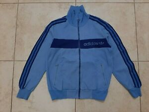 Adidas Yugoslavia Jacket Blue Size S Vintage 1980/85 Casual West Germnay