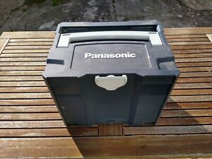 Panasonic 18v Impact, Drill & Jigsaw with batteries and systainer.