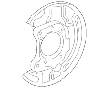 Genuine Toyota Backing Plate 46504-08020