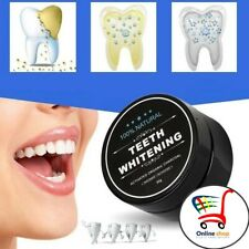 Teeth Whitening Oral Care Charcoal Powder Natural Activated Tooth  Whitener 30g
