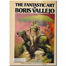 The Fantastic Art of Boris Vallejo ARTBOOK Science Fiction FANTASY Illustration