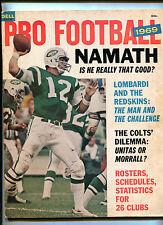 Pro Football 1969 Joe Namath  Johnny Unitas Earl Morrall    MBX108