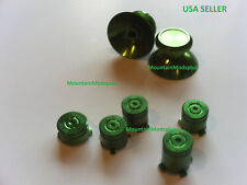New Green Metal Aluminum Alloy ABXY Guide Thumbstick Bullet Xbox One Controller