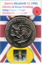 Charles & Diana Commemorative 1981 Coin - Free UK Postage (Item: 6)