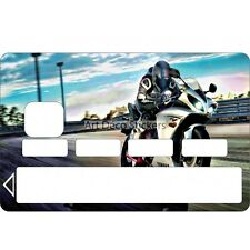 Stickers Autocollant Skin Carte bancaire CB Moto 1101 1101