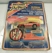 Diecast Matchbox Action Key Cars Nissan 300 ZX Turbo 1986 in Blister
