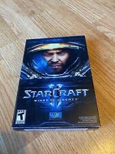 Starcraft 2 II Wings Of Liberty PC Game XP