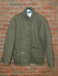 Mens M ANALOG by Burton Army Green Winter Puffer Coat