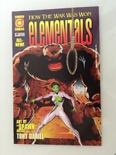 ELEMENTALS HOW THE WAR WAS WON#2 1ST PRINT NM HIGH GRADE COMICO LOW PRINT RARE