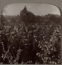 Some of the fighters in the great battle of the Marne - Underwood WW1 Stereoview