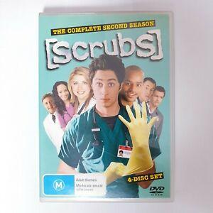 Scrubs Season 2 TV Series DVD Region 4 AUS - 4 x Disc Set Comedy