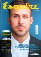 Ryan Gosling Prince Charles Ana de Armas Esquire Russian Edition Sept 2017 New