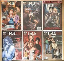 True Blood Comic Book LOT 2010 #1 A, C, D + #2 Second Print + 2011 #1 Lafayette