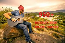Royalty Free Music - Get 950+ Royalty Free Background Music Tracks