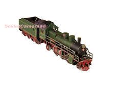 1/87 HO Scale Russian Steam Locomotive Su-214 Railway Cardboard Model Kit New