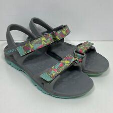 Merrell Hydro Drift Sport Sandal Girl's Size 2 Gray Turquoise Water Shoe Hiking