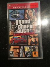 Grand Theft Auto Liberty City Stories Sony PSP Greatest Hits New Factory Sealed
