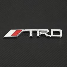 TRD Chrome Rear Trunk Emblem Badge Rear Sticker For Toyota 86 Supra Scion Lexus