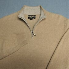 CLUB ROOM 100% SOFT!!! CASHMERE LIGHTWEIGHT SWEATER--L--CAMEL HEATHER--PERFECT!