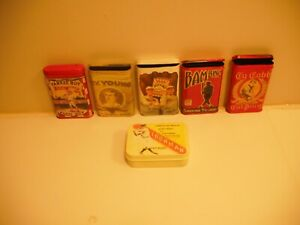 babe ruth, ty cobb cy young, lou gehrig more tobacco tins, all  REPLICAS pick 3