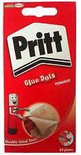 Pritt Glue Dots Permanent 64 per Pack.....FREE DELIVERY.....